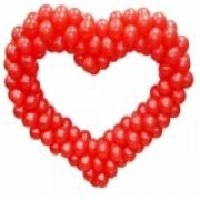 Сердца из шаров