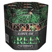 "Фейерверк SB-19-03 Юность / LOVE OF GREEN (1,2"" х 19)"