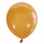 Шар (12''/30 см) Оранжевый, кристалл, 1 шт.