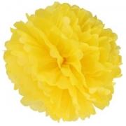 Помпон, Желтый (16''/41 см) 1 шт.