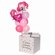 "Коробка с шарами ""Пинки Пай"""