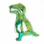 Шар (31''/79 см) Фигура, Динозавр, зеленый, 1 шт.