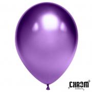 Шар (12''/30 см) Фиолетовый, хром, 1 шт.