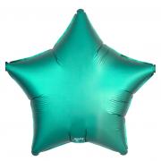 Шар (21''/53 см) Звезда, Тиффани, Сатин, 1 шт.