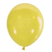 Шар (12''/30 см) Желтый, кристалл, 1 шт.