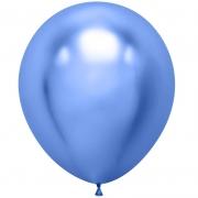 Шар (18''/46 см) Синий, хром, 1 шт.
