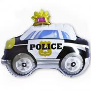 Шар (29''/74 см) Фигура, Полицейская машина, 1 шт.