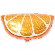 Шар (26''/66 см) Фигура, Долька апельсина, 1 шт.