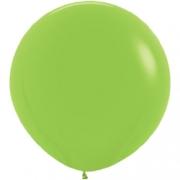 Большой шар (30''/75 см) Лайм, пастель, 1 шт.