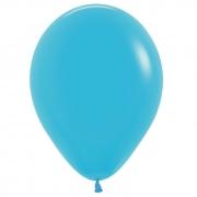 Шар (12''/30 см) Синяя бирюза, пастель, 1 шт.