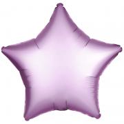Шар (21''/53 см) Звезда, Сиреневый, 1 шт.