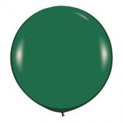 Большой шар (30''/75 см) Зеленый, пастель, 1 шт.