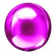 Шар (20''/51 см) Сфера 3D, Фуше, 1 шт.