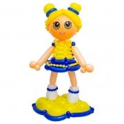 Кукла ЛОЛ (LOL) в желтом