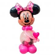 Минни Маус с сердечком, розовая