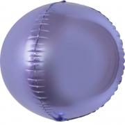 Шар (24''/61 см) Сфера 3D, Сиреневый, 1 шт.