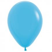 Шар (12''/30 см) Голубой, пастель, 1 шт.
