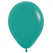 Шар (12''/30 см) Зеленая бирюза, пастель, 1 шт.