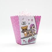 Коробочки для сладостей, Кукла ЛОЛ (LOL), 9*6*10 см, 6 шт.