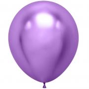 Шар (18''/46 см) Фиолетовый, хром, 1 шт.