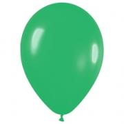 Шар (12''/30 см) Зеленый, пастель, 1 шт.