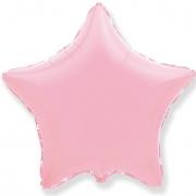 Шар (32''/81 см) Звезда, Розовый, 1 шт.