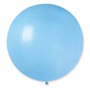 Большой шар (30''/75 см) Голубй, пастель, 1 шт.